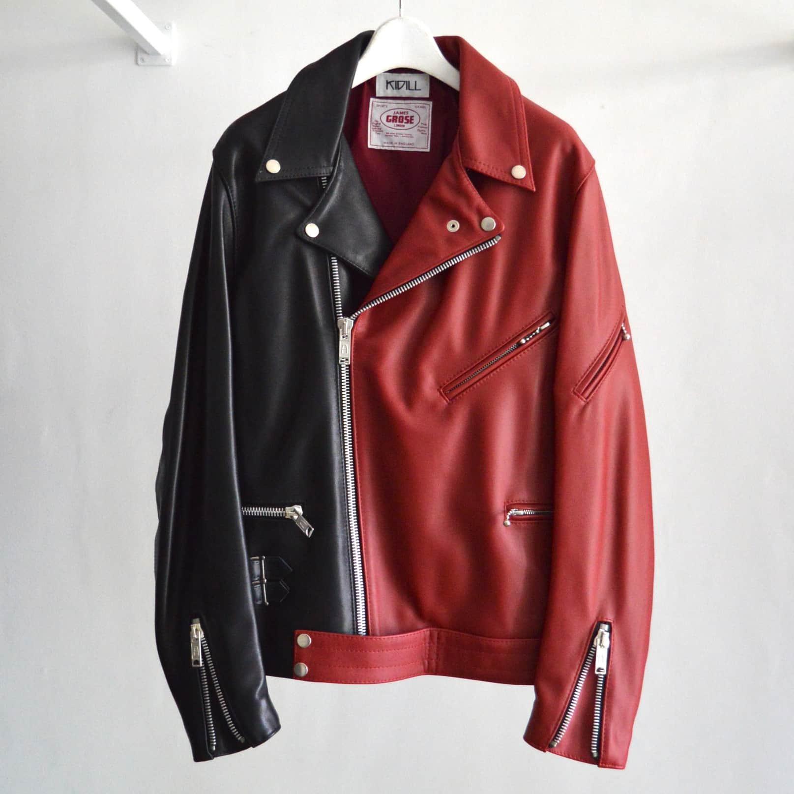 【KIDILL×JAMES GROSE LODON】MANILA & GEORGIAN Docking Leather Riders Jacket