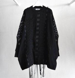 【KIDILL×rurumu:】Drawcord Knit Pullover