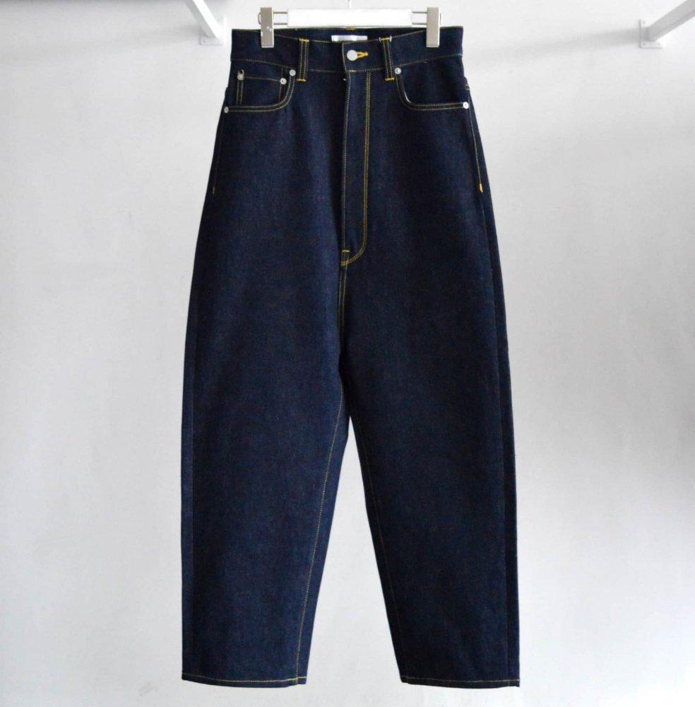 Wide Tapered Denim Pants