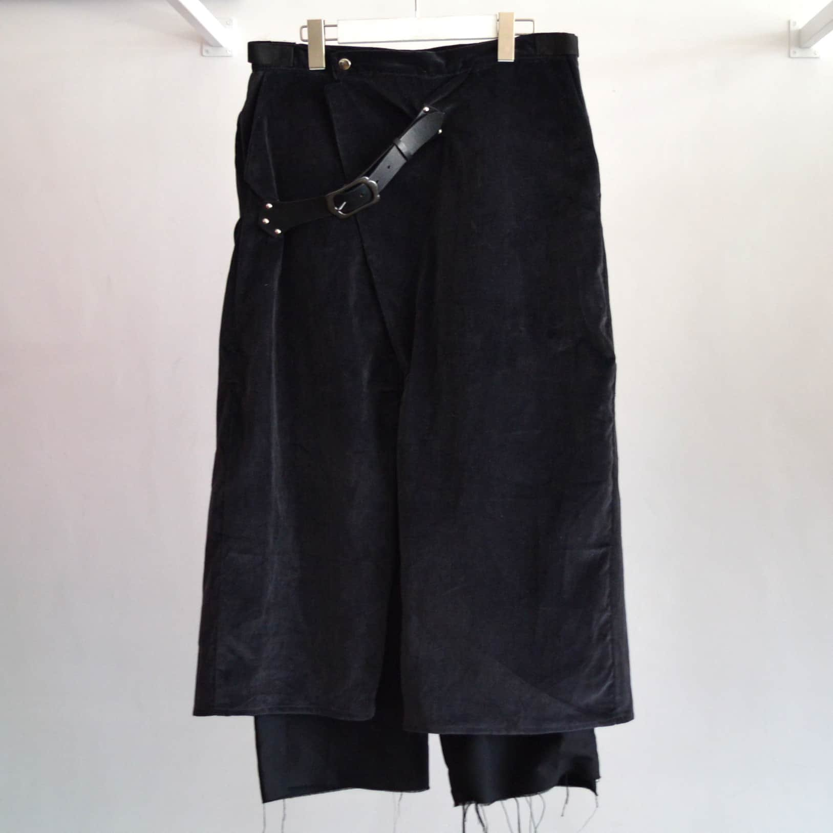【tokio】BELTED Wrap Pants
