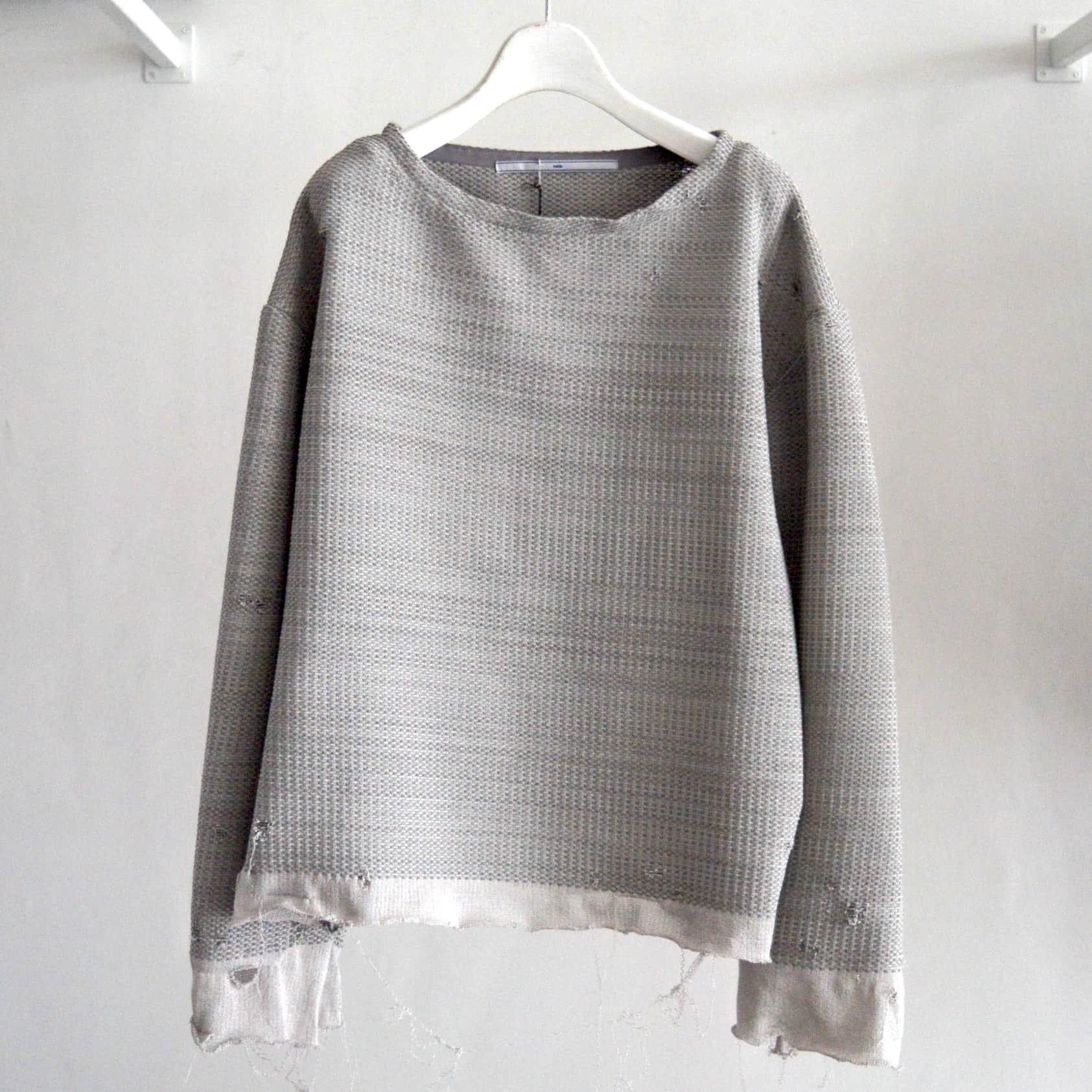【tokio】Knitting Suede Pullover