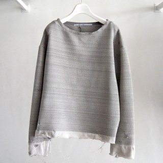 【tokio】Knitting Suede Pullover