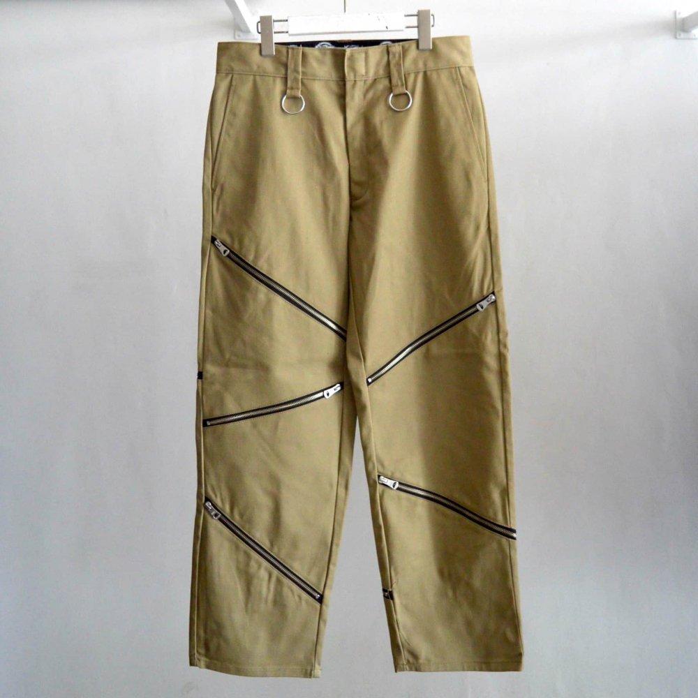 【KIDILL×Dickies】Zip Pants