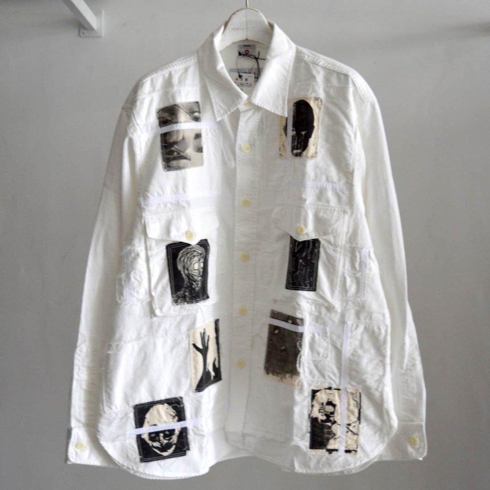 【KIDILL×EDWIN】Patch Denim Shirts
