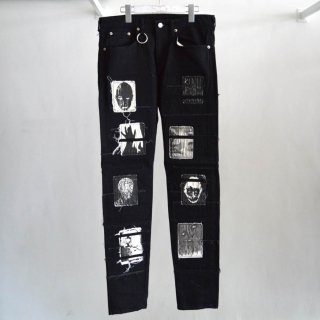 【KIDILL×EDWIN】Patch Slim Tapered Pants