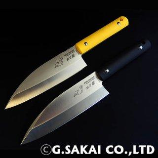 サビナイフ4 出刃シャチ 両刃(もろは)