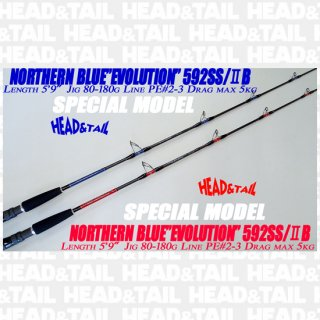 "<img class='new_mark_img1' src='//img.shop-pro.jp/img/new/icons1.gif' style='border:none;display:inline;margin:0px;padding:0px;width:auto;' />NORTHERN BLUE""EVOLUTION"" 592SS/�B   SPECIAL MODEL"