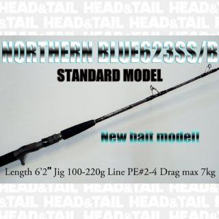 <img class='new_mark_img1' src='//img.shop-pro.jp/img/new/icons1.gif' style='border:none;display:inline;margin:0px;padding:0px;width:auto;' />NORTHERN BLUE623SS/B  ( New bait model)  STANDARD MODEL
