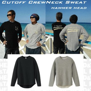 <img class='new_mark_img1' src='//img.shop-pro.jp/img/new/icons1.gif' style='border:none;display:inline;margin:0px;padding:0px;width:auto;' />Cut off Crew Neck Sweat
