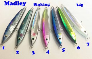 Madley Sinking 110-34g