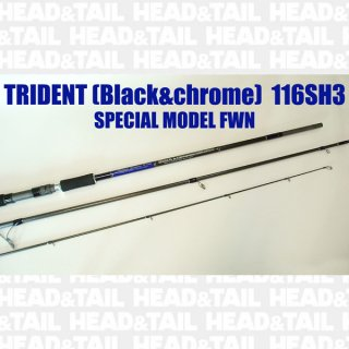 TRIDENT (Black&chrome) 116SH3 SPECIAL MODEL FWN
