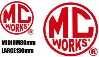 MC works'カッティングデカールラウンドタイプ