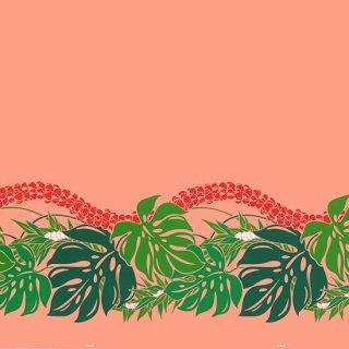 ピンクとオレンジのハワイ...