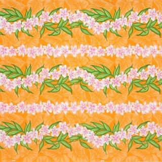 オレンジのハワイアンファ...