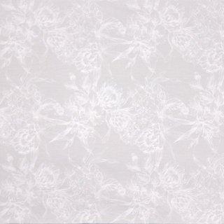 白のハワイアンファブリッ...