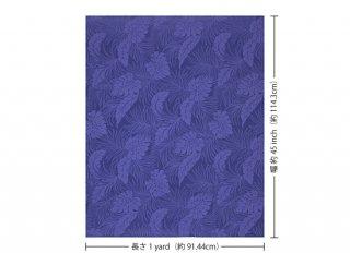 青紫のハワイアンファブリ...