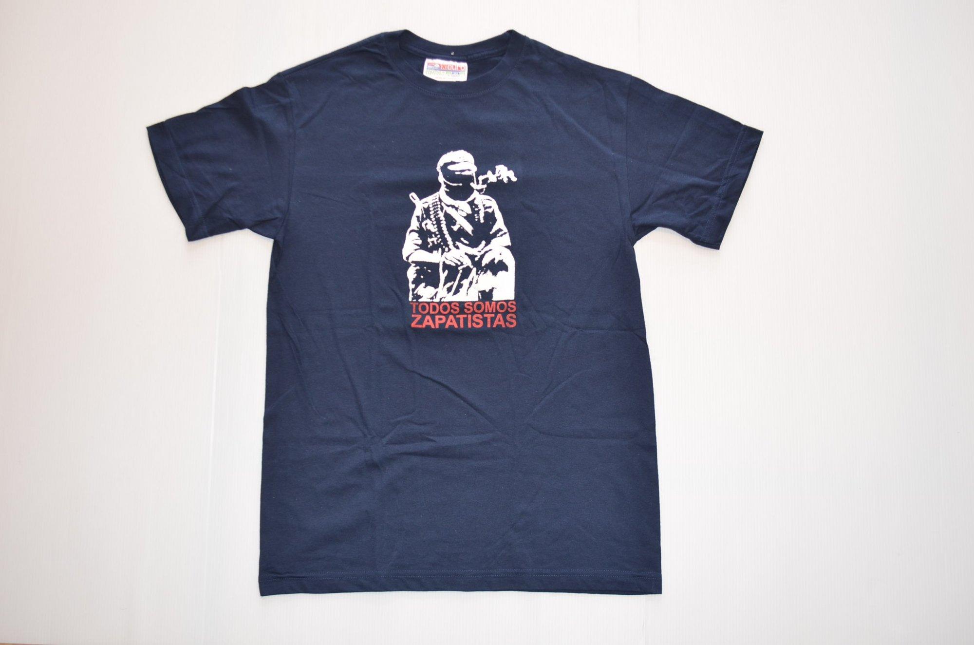 サパティスタTシャツ『我々はサパティスタ』