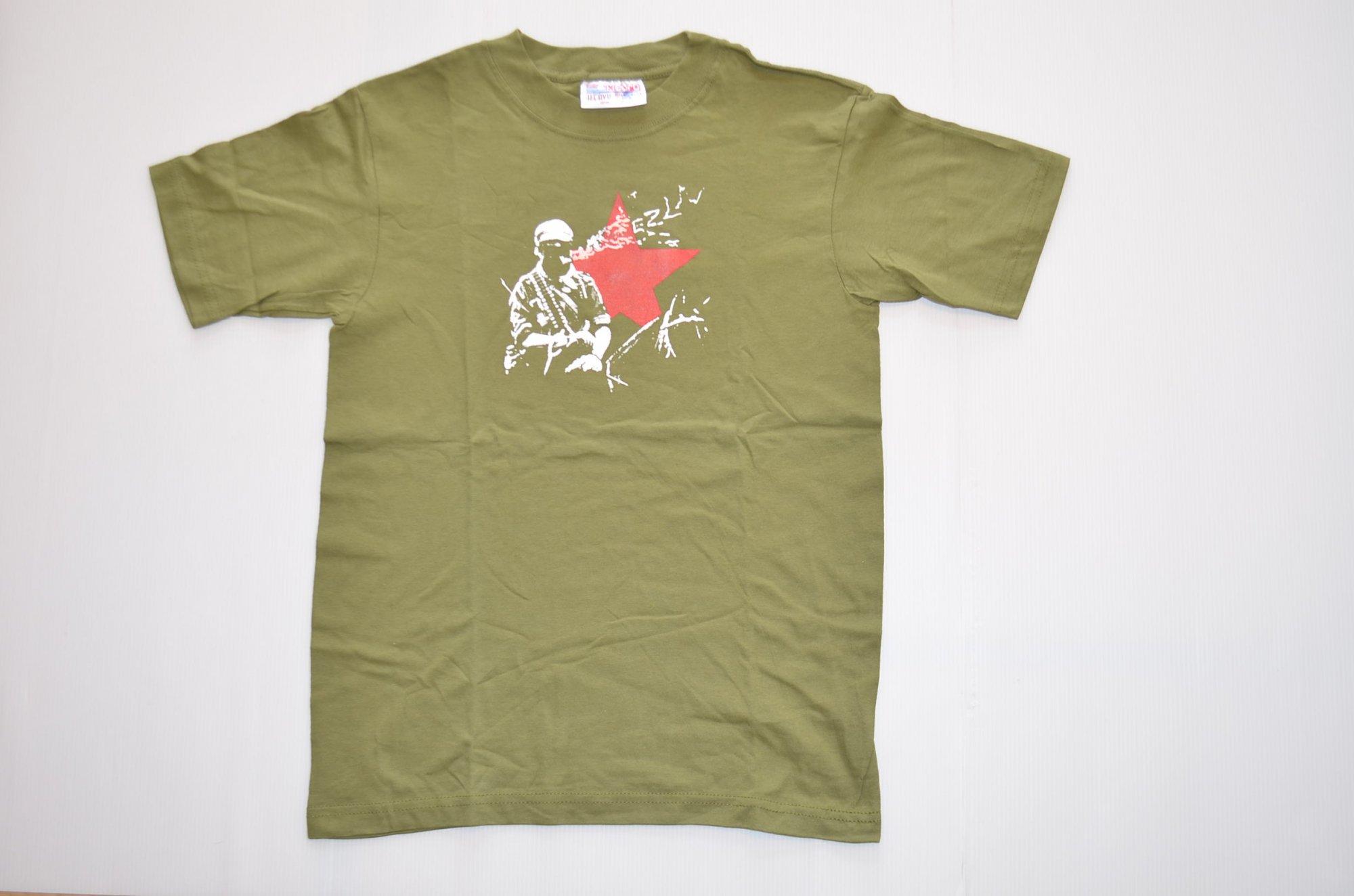 サパティスタ Tシャツ『マルコス』by EZLN