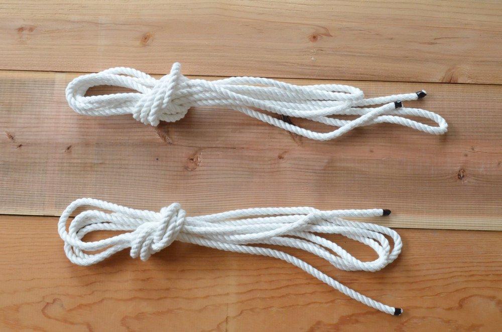 ハンモック用ロープ(5m×2本)