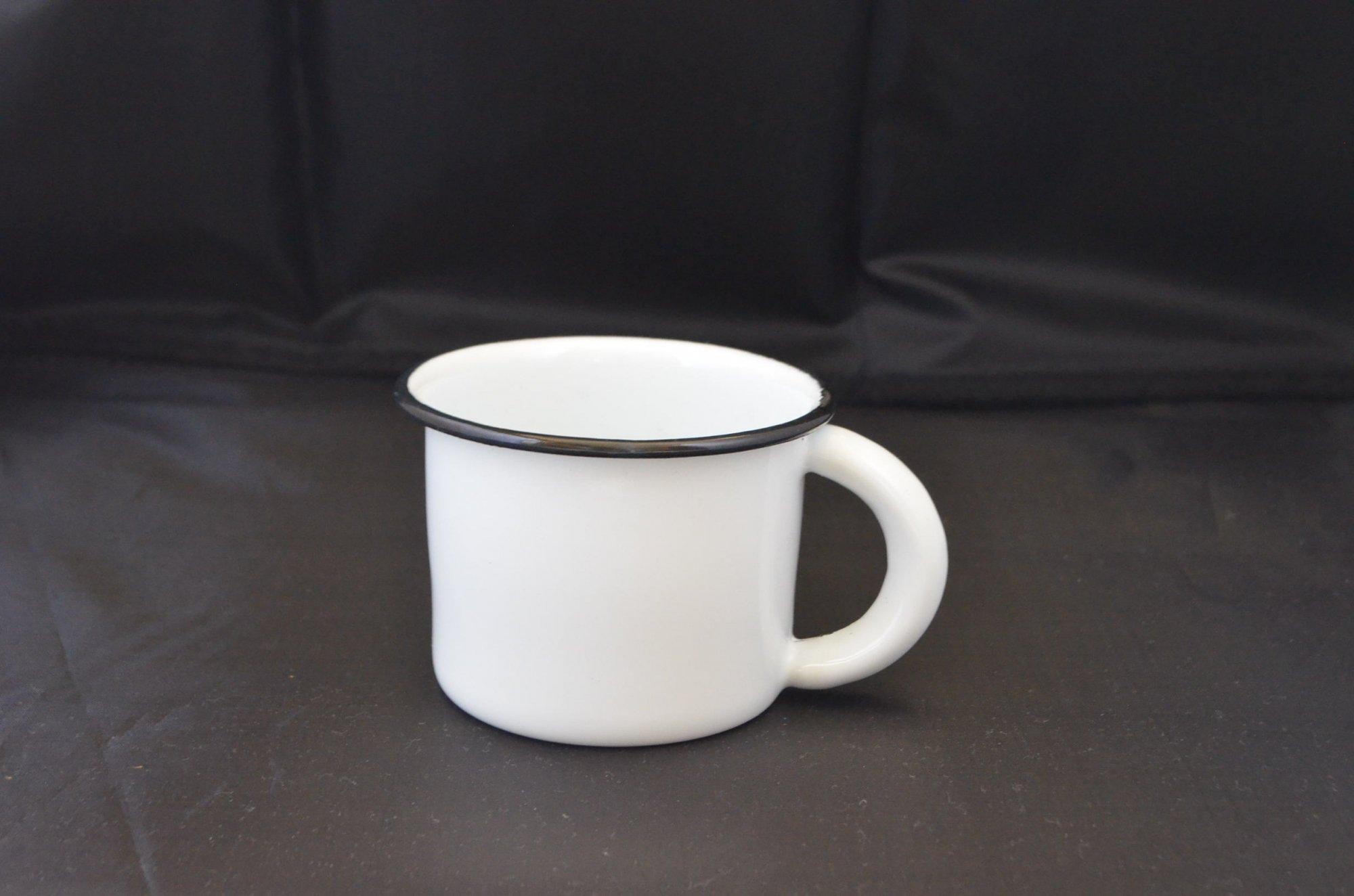 メキシコホーローマグカップ☆ホワイト