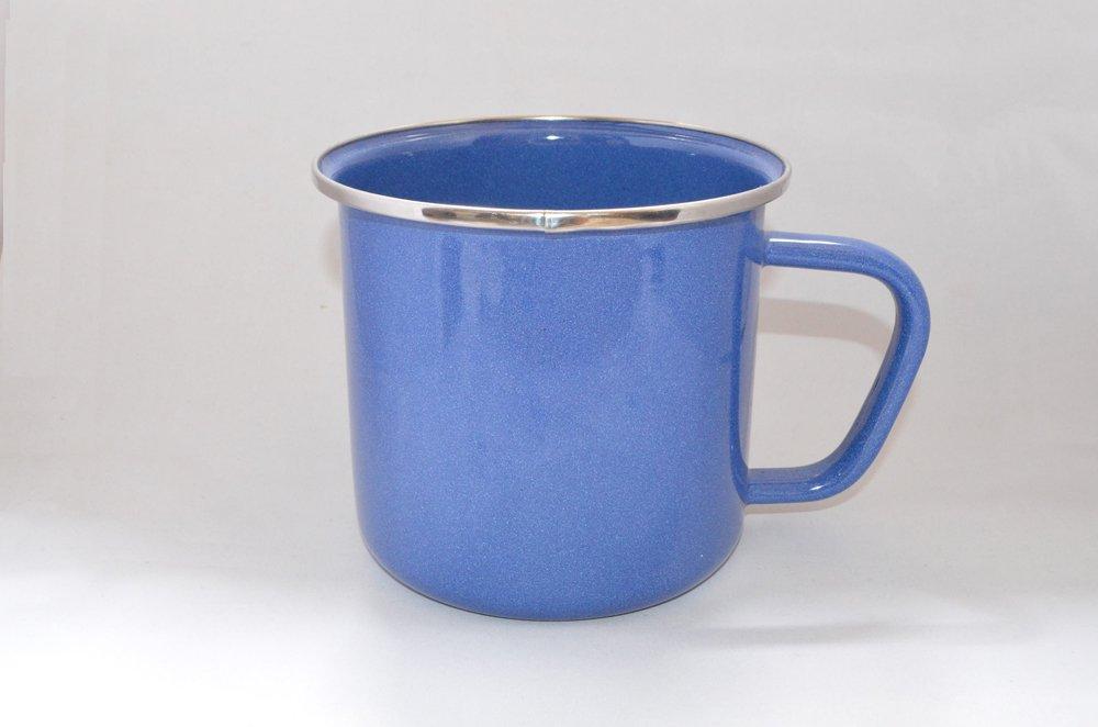 巨大ホーローマグカップ