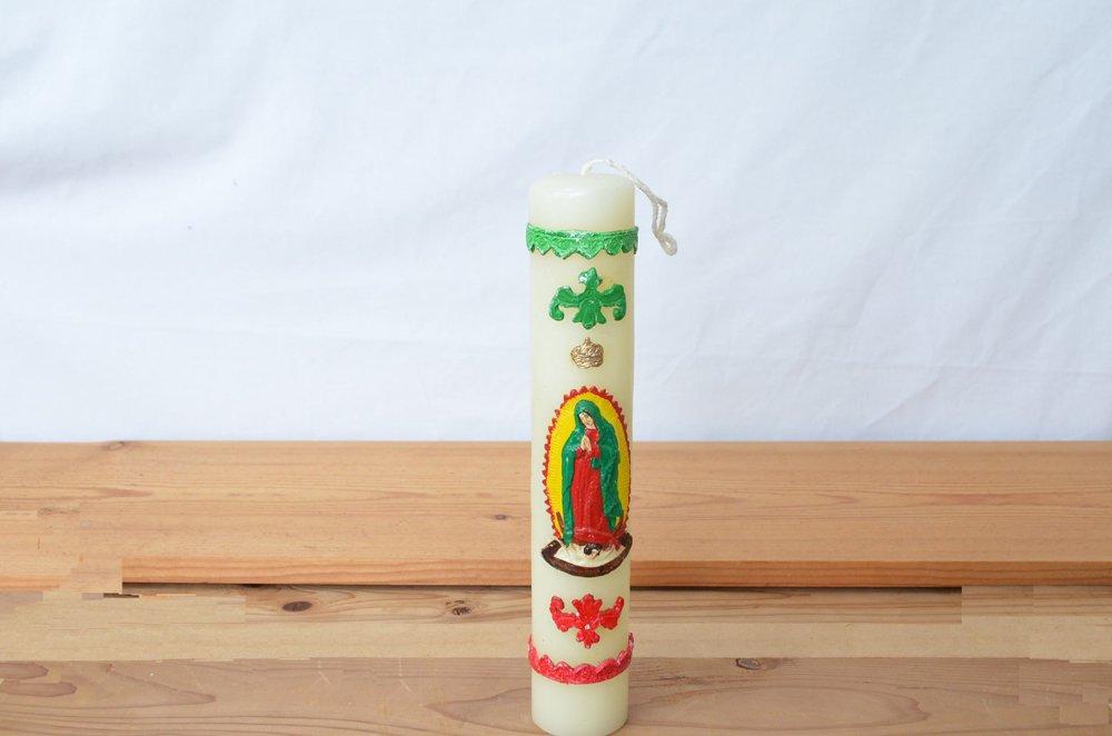 グアダルーペの聖母/メキシコキャンドル