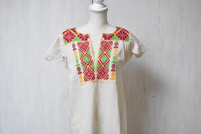 チアパス州刺繍☆ブラウス(3色)