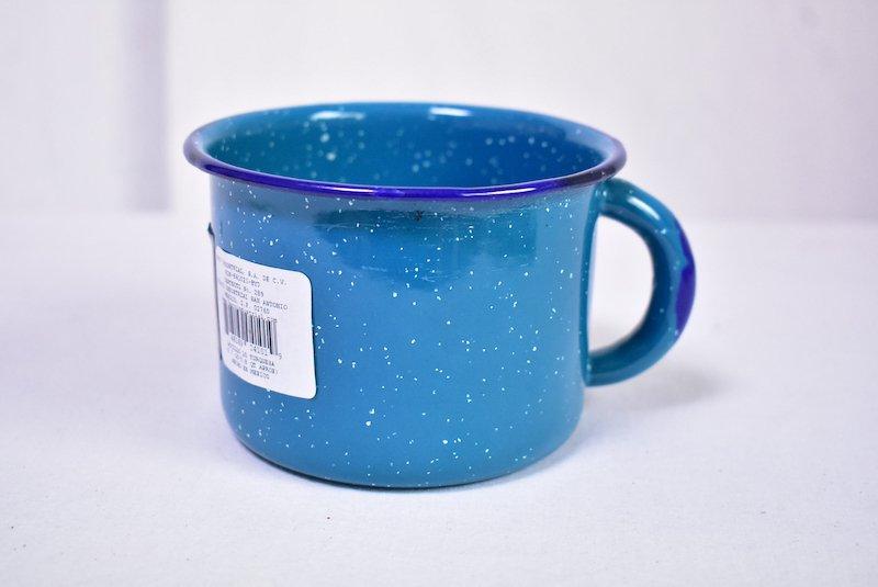 ホーローマグカップ(大)☆ターコイズブルー
