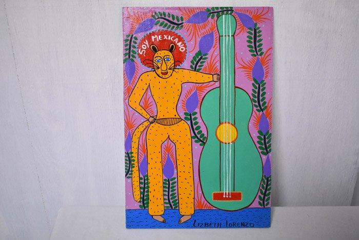 レタブロ『私はメキシコ人』byリベス・ロレンツィオ