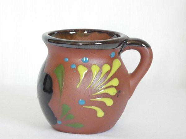 オアハカ壺型マグカップ【大】K