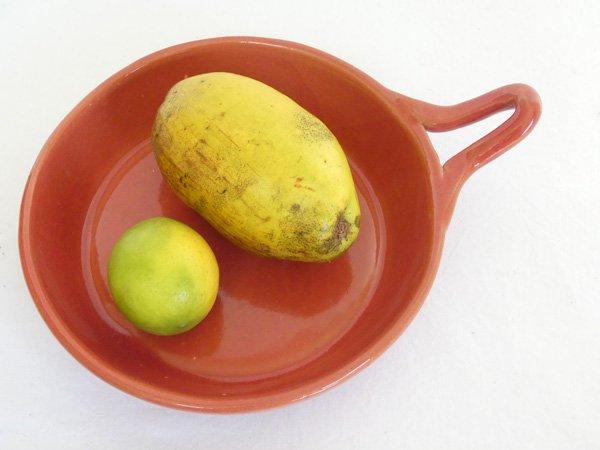 セラミックフライパン オレンジ