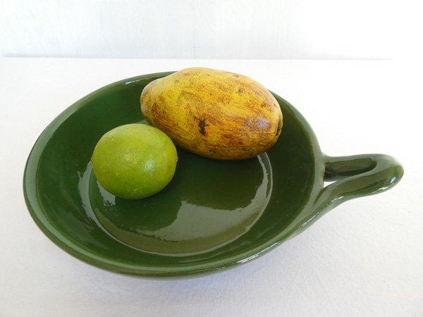 セラミックフライパン 深緑