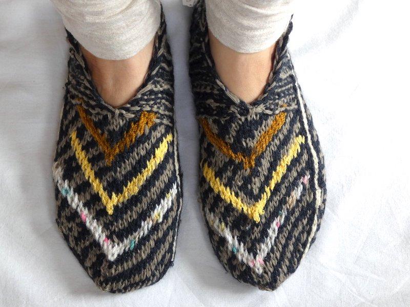 手編み靴下H☆ショート【イラン製】24cmまで