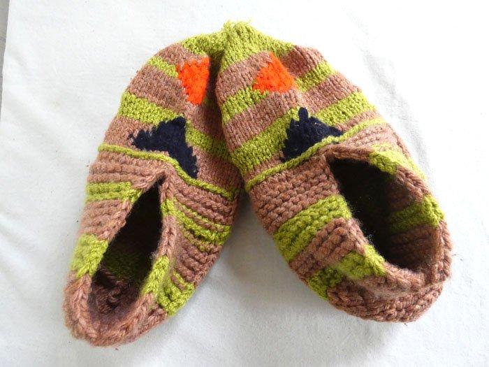 手編み靴下R☆ショート【イラン製】24.5cmまで