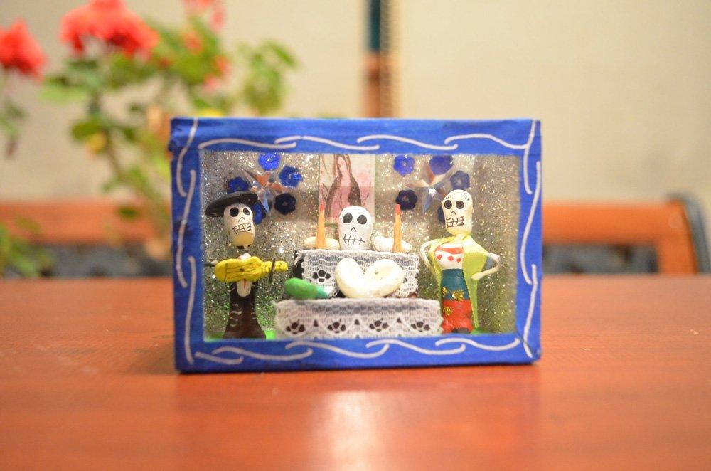 ガイコツボックス『死者の葬式』【ブルー】