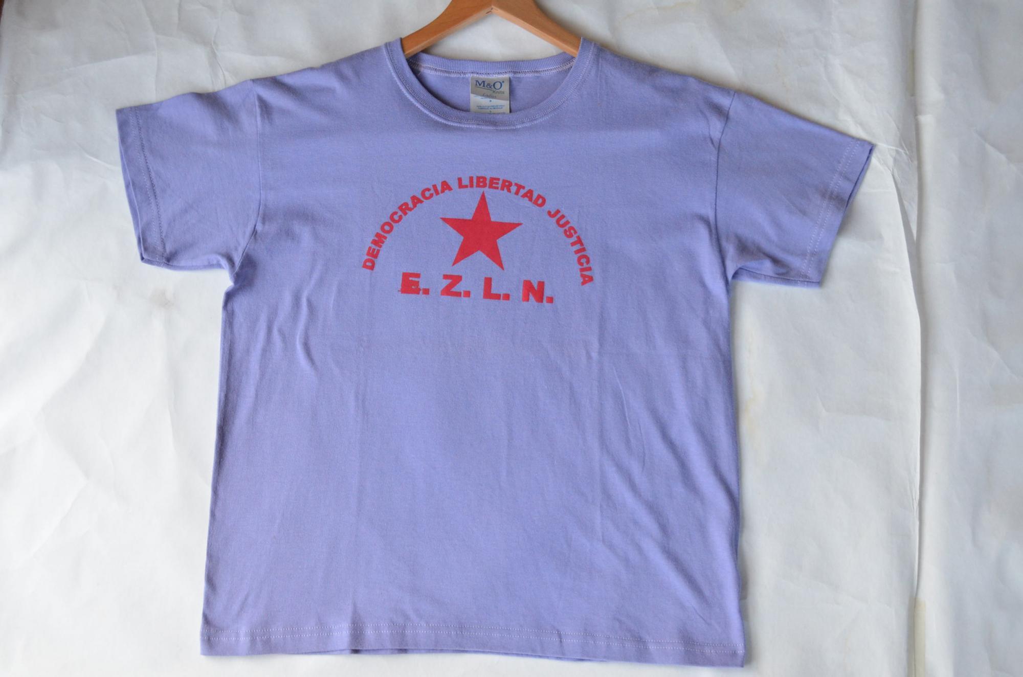 サパティスタTシャツ『自由のために』by EZLN