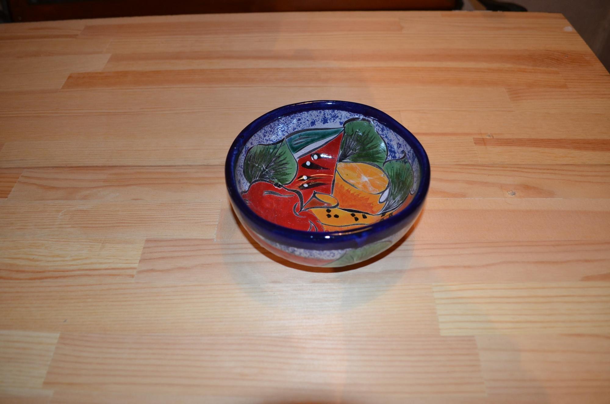 タラベラ焼 フルーツボウル(グァナファト産)