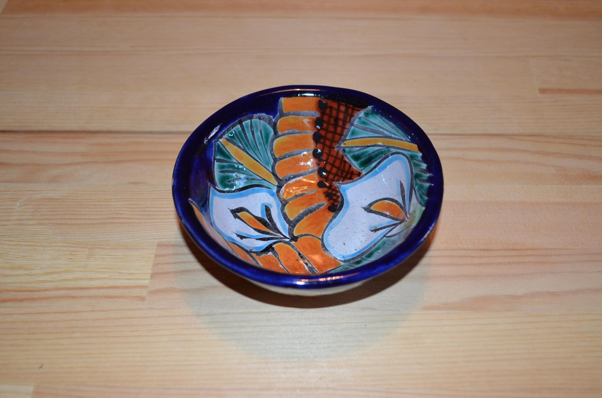 タラベラ焼き 小皿(グァナファト産)