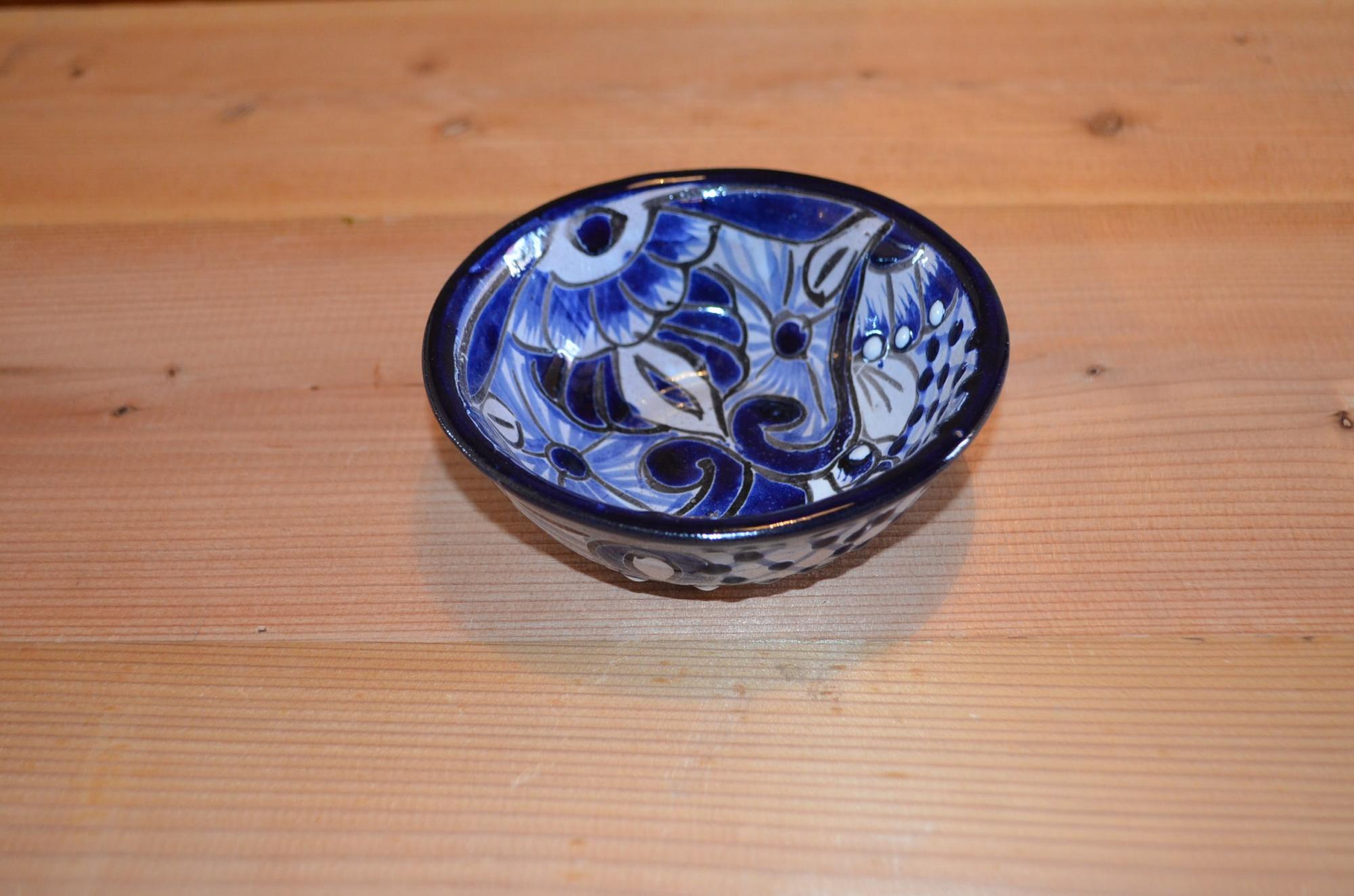 タラベラ焼 小皿(グァナファト産)