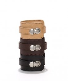 <img class='new_mark_img1' src='https://img.shop-pro.jp/img/new/icons34.gif' style='border:none;display:inline;margin:0px;padding:0px;width:auto;' />hobo Shade Leather Bracelet Wide (BLACK)