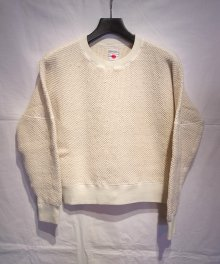 <img class='new_mark_img1' src='https://img.shop-pro.jp/img/new/icons8.gif' style='border:none;display:inline;margin:0px;padding:0px;width:auto;' />marka <BR>RV DOLMAN SLEEVE CREW NECK (OFF WHITE)