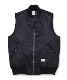 """<img class='new_mark_img1' src='https://img.shop-pro.jp/img/new/icons34.gif' style='border:none;display:inline;margin:0px;padding:0px;width:auto;' />BEDWIN <BR>TYPE MA-1 VEST""""DUFFY"""" (BLACK)"""