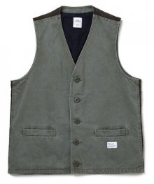 """<img class='new_mark_img1' src='https://img.shop-pro.jp/img/new/icons34.gif' style='border:none;display:inline;margin:0px;padding:0px;width:auto;' />BEDWIN <BR>CHINO VEST""""ZANDER"""" (OLIVE)"""