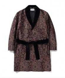 <img class='new_mark_img1' src='https://img.shop-pro.jp/img/new/icons8.gif' style='border:none;display:inline;margin:0px;padding:0px;width:auto;' />WACKOMARIA<BR> JACQUARD PAISLEY GOWNCOAT