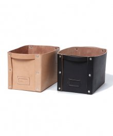 <img class='new_mark_img1' src='https://img.shop-pro.jp/img/new/icons34.gif' style='border:none;display:inline;margin:0px;padding:0px;width:auto;' />hobo <BR>Cow Leather Storage Box M
