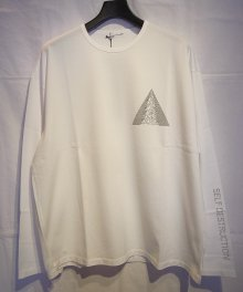 <img class='new_mark_img1' src='https://img.shop-pro.jp/img/new/icons49.gif' style='border:none;display:inline;margin:0px;padding:0px;width:auto;' />LAD MUSICIAN <BR>PERMANENT ROCKER LONG SLEEVE BIG T-SHIRT (2119827) (WHITE) SOLD OUT