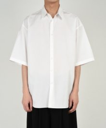 <img class='new_mark_img1' src='https://img.shop-pro.jp/img/new/icons8.gif' style='border:none;display:inline;margin:0px;padding:0px;width:auto;' />LAD MUSICIAN <BR>BROAD CLOTH BIG SS SHIRT (WHITE)