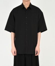 <img class='new_mark_img1' src='https://img.shop-pro.jp/img/new/icons8.gif' style='border:none;display:inline;margin:0px;padding:0px;width:auto;' />LAD MUSICIAN <BR>BROAD CLOTH BIG SS SHIRT (BLACK)