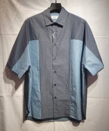 <img class='new_mark_img1' src='https://img.shop-pro.jp/img/new/icons8.gif' style='border:none;display:inline;margin:0px;padding:0px;width:auto;' />marka <BR>PANEL SHIRT (NAVY)