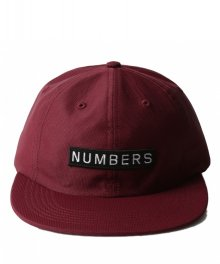 NUMBERS EDITION <BR>MITERED BOX - NYLON 6-PANEL HAT【SOLD OUT】<img class='new_mark_img2' src='https://img.shop-pro.jp/img/new/icons50.gif' style='border:none;display:inline;margin:0px;padding:0px;width:auto;' />